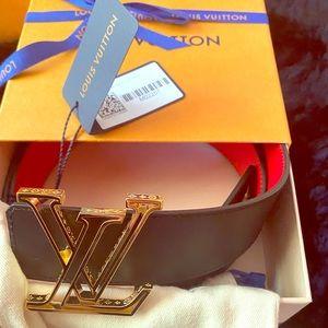 NWTS Louis Vuitton Reversible Millionaire Belt
